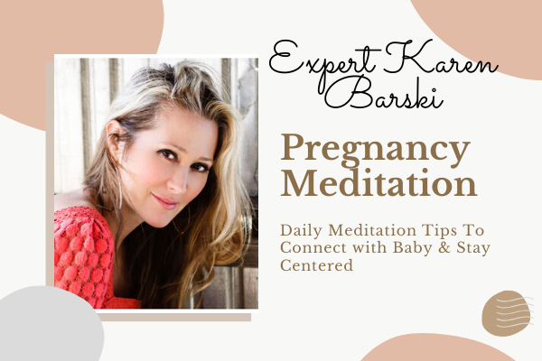pregnancy meditation tips